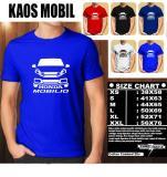 Promo Kaos Mobil Distro Baju T Shirt Otomotif Honda Mobilio Siluet Tampak Depan Murah