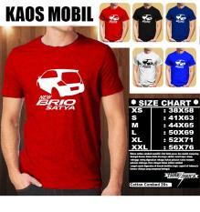 KAOS MOBIL Distro Baju T-Shirt Otomotif HONDA NEW BRIO SATYA SILUET TAMPAK SAMPING