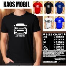 Spesifikasi Kaos Mobil Distro Baju T Shirt Otomotif Isuzu Pick Up Siluet Tampak Depan Lengkap Dengan Harga