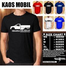 Promo Kaos Mobil Distro Baju T Shirt Otomotif Isuzu Pick Up Siluet Tampak Samping Murah