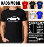 Harga Kaos Mobil Distro Baju T Shirt Otomotif Mercedes Benz S Class Hybrid Siluet Tampak Samping Yang Murah
