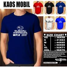 KAOS MOBIL Distro Baju T-Shirt Otomotif Subaru Impreza WRX STI