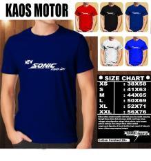 KAOS MOTOR Distro Baju T-Shirt Otomotif Honda NEW SONIC 150