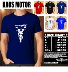 KAOS MOTOR Distro Baju T-Shirt Otomotif HONDA REVO FI SILUET TAMPAK DEPAN