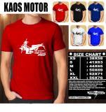 Promo Kaos Motor Distro Baju T Shirt Otomotif Yamaha Mx King 150 Tampak Samping Murah