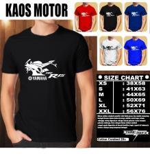 Jual Kaos Motor Distro Baju T Shirt Otomotif Yamaha R15 Tampak Samping