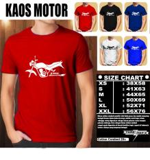 KAOS MOTOR Distro Baju T-Shirt Otomotif YAMAHA SCORPIO Z TAMPAK SAMPING