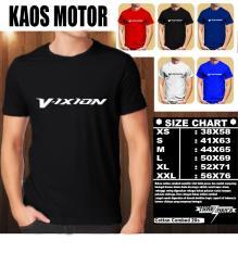 KAOS MOTOR Distro Baju T-Shirt Otomotif Yamaha vixion