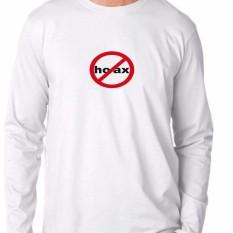 Kaos Murah / T-shirt Hoax4 - Putih