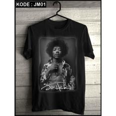 Kaos Musik /T shirt Band,Jimi Hendrix Baju Kaos Distro Metal Bandung