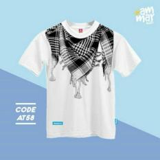 Kaos Muslim Anak Sorban - AT 58 (XS, S - XXL)