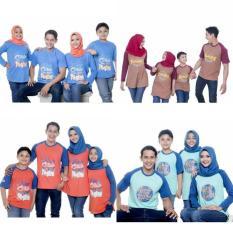 Kaos Muslim Couple Ayah Size S-XL Baju Muslim Murah Baju Keluarga