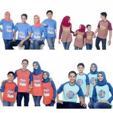 Kaos Muslim Couple Ayah Size S-Xl Baju Muslim Murah Baju Keluarga - Exydud
