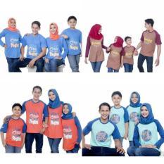 Kaos Muslim Couple Ayah Size S-Xl Baju Muslim Murah Baju Keluarga - Tn09os