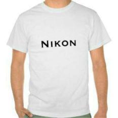 Kaos Nikon - Putih