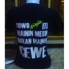 Jual Kaos Ninja Cowok Ninja Itu Mainin Mesin Branded