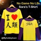 Jual Kaos No Game No Life Sora Kaos Anime Cosplay Sora Humanity Satu Set