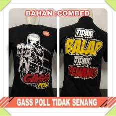 Kaos Oblong Hitam Casual&Trendy