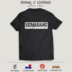 Kaos Oleh-Oleh / Nama Kota Semarang #BXNK