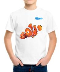 Jual Kaos Pandir Kaos Finding Nemo Ajs64 Putih Baru