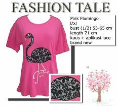 Kaos Pink Flamingo Semi Batwing Nevada Sz.L