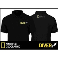 Kaos Polo Shirt-Tshirt-Polo Shirt National Geographic Diver