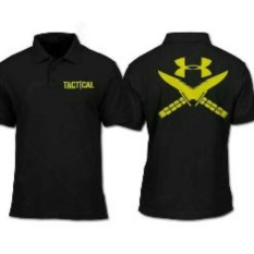 Kaos Polo Shirt Under Armour-Distro-Tshirt Polo Under ArmourTactical