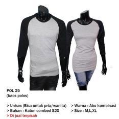 Kaos Polos Couple Yogyakarta  Pol 25 - D3aceb