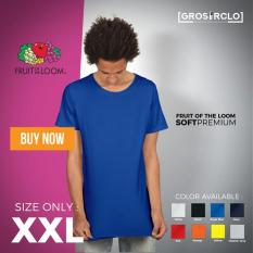 Kaos Polos Fruit Of The Loom Soft Premium 2Xl Murah Original Jakarta - 0Qnivy