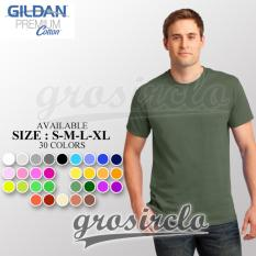 Kaos polos Gildan Premium 76000 MAN Original Import Murah S M L XL