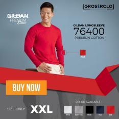 Kaos Polos Gildan Premium Long Sleeve Original Murah Jakarta 2XL