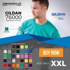 Kaos Polos Gildan Premium Original Murah Jakarta 2XL