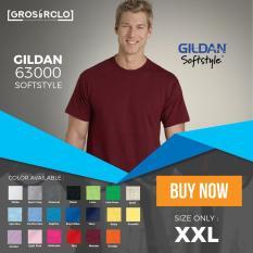 Kaos Polos Gildan Softstyle Original Murah Jakarta 2XL