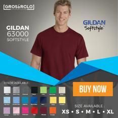 Kaos Polos Gildan Softstyle Original Murah Jakarta