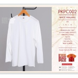 Kaos Polos Hijab Lengan Panjang White Pjg 30S Jawa Barat Diskon 50