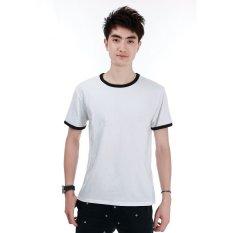 Kaos Polos Katun Pria O Neck Size Xl 86202 T Shirt Hitam Kaos Polos Diskon 40