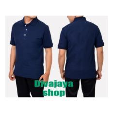 Kaos polos - Polo Shirt - Navy Blue