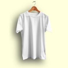 Kaos Polos PUTIH - Cotton Combed 20s