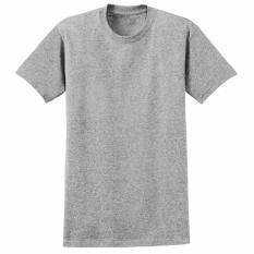 Beli Kaos Polos T Shirt Warna Abu Misty Murah Di Dki Jakarta