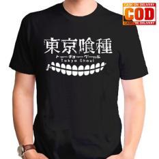 Kaos Premium KaosAjalah KAP / Baju Distro  / Tshirt Casual Pria Wanita / Fashion Atasan / Kaos Anime Tokyo Ghoul / Kaos Movie Anime