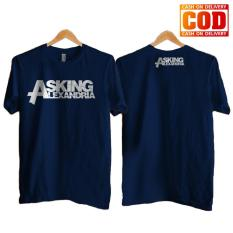 Kaos Premium KaosAjalah KAP / Baju Distro  / Tshirt Casual Pria Wanita / Fashion Atasan / Kaos Band Asking Alexandria Band Metal / Kaos Band 004