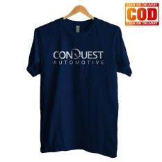 Kaos Premium KaosAjalah KAP / Baju Distro  / Tshirt Casual Pria Wanita / Fashion Atasan / Kaos Otomotif Conquest Auto / Kaos Otomotif 001