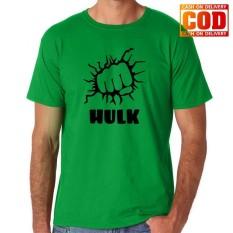 Kaos Premium KaosAjalah KAP / Baju Distro  / Tshirt Casual Pria Wanita / Fashion Atasan / Kaos Superhero Hulk Marvel Spiderman Captain Amerika Spiderman Thor The Avengers / Hulk 002