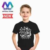 Kaos Premium Mypoly Anak Pria Laki Laki Ap Baju Couple Family Keluarga Tshirt Distro Fashion Atasan Kaos Anak Cowok Doodle Suprise01 Asli