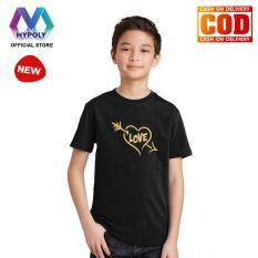 Kaos Premium Mypoly Anak Pria laki-laki AP / Baju Couple Family Keluarga / Tshirt distro / Fashion atasan / Kaos Anak Cowok Valentine Arrow