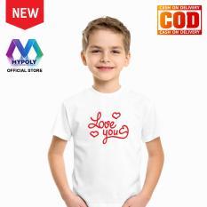 Kaos Premium Mypoly Anak Pria laki-laki AP / Baju Couple Family Keluarga / Tshirt distro / Fashion atasan / Kaos Anak Cowok Valentine Love You