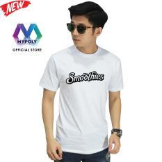 Kaos Premium Mypoly Pria Laki-Laki PL / Baju Couple Family Keluarga / Tshirt distro Anak Wanita / Fashion atasan / Kaos Pria Dewasa Smoothies
