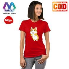 Harga Hemat Kaos Premium Mypoly Wanita Perempuan Wp Baju Couple Family Keluarga Tshirt Distro Anak Pria Laki Laki Fashion Atasan Kaos Wanita Dewasa Imlek18 Corgi Jump