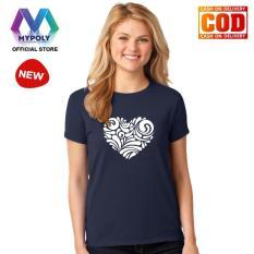 Kaos Premium Mypoly Wanita Perempuan WP / Baju Couple Family Keluarga / Tshirt distro Anak Pria Laki-Laki / Fashion Atasan / Kaos Wanita Dewasa Valentine Brush