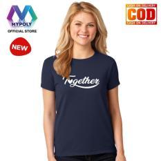 Kaos Premium Mypoly Wanita Perempuan WP / Baju Couple Family Keluarga / Tshirt distro Anak Pria Laki-Laki / Fashion Atasan / Kaos Wanita Dewasa Valentine Together